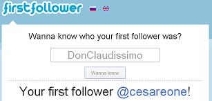 firstfollower