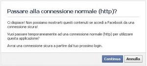 facebook http