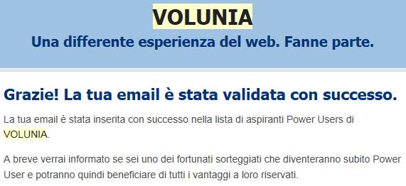email volunia