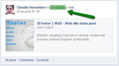 social reading facebook consigliato